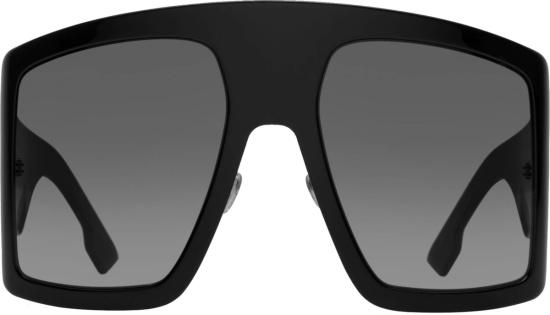 Dior Black Solight Shield Sunglasses