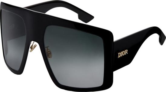 Dior Black Solight1 Sunglasses