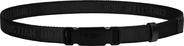 Dior Black T Buckle Belt Dio5d77tbckle95z00