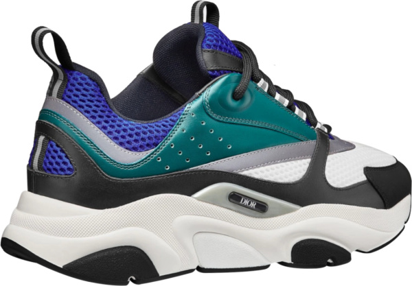 Dior Blue And Teal B22 Sneakers