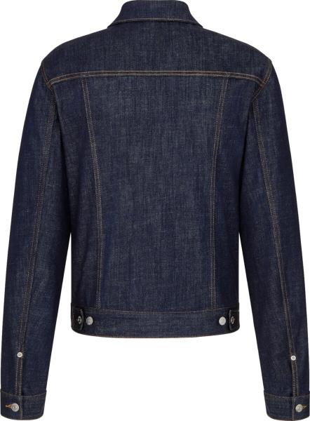 Dior Blue Denim Oblique Lined Blouson