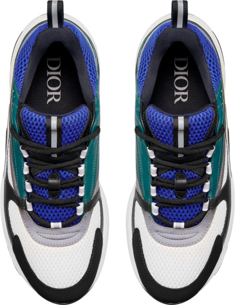 Dior Blue White Green B22 Sneakers
