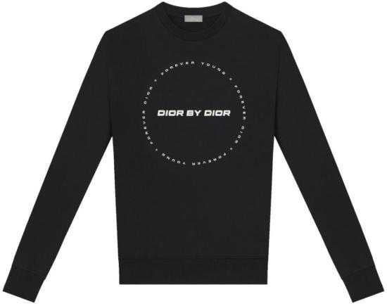 Dior By Dior Black Circular Hoodie
