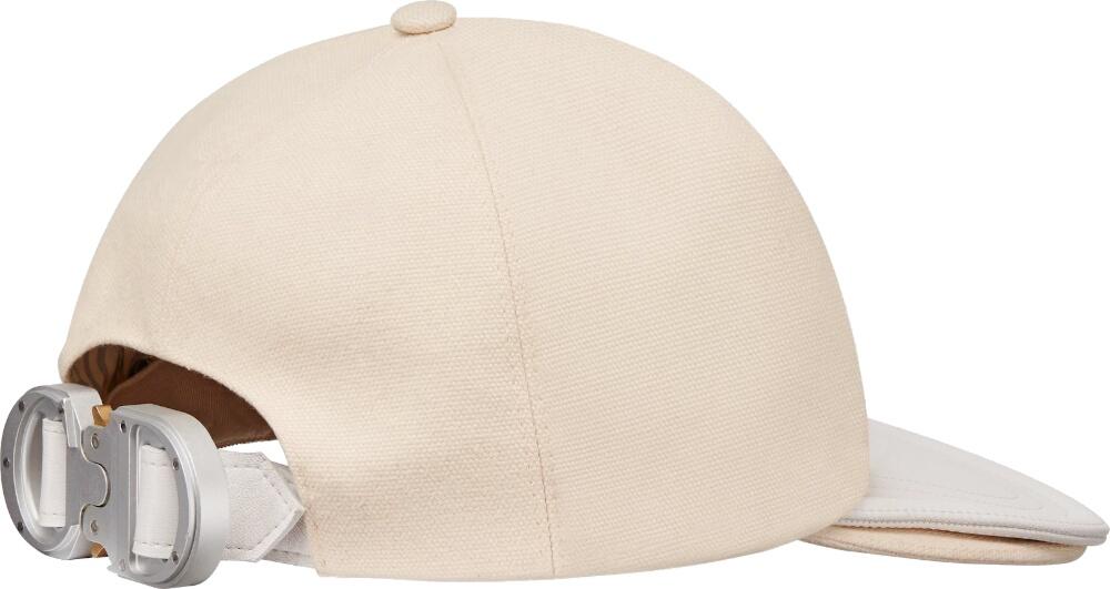 Dior Cd Buckle White Baseball Hat