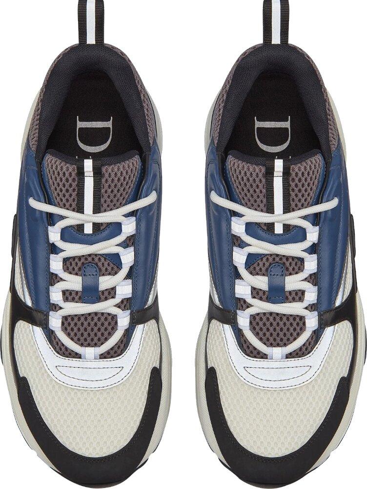 Navy & Dark Grey 'B22' Sneakers