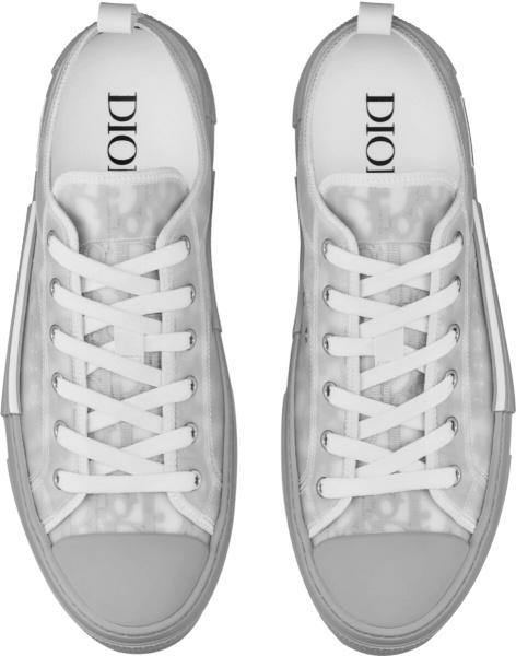 Dior Grey B23 Low Top Sneakers