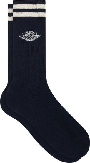 Dior Jordan Blue Socks