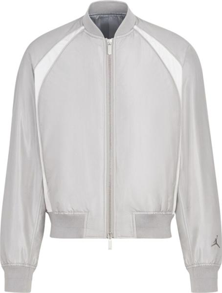 Dior Jordan Grey Bomber Jacket