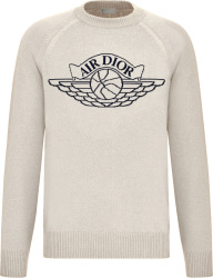Dior Jordan White Air Dior Sweater