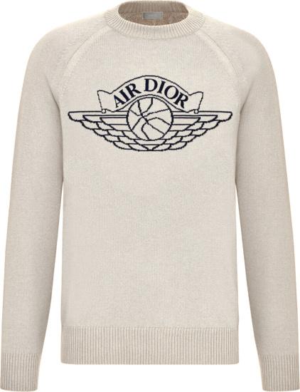 Dior Jordan White Air Dior Sweater