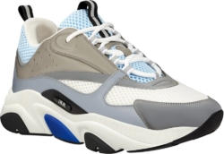 Dior Light Blue And Grey Sneakers