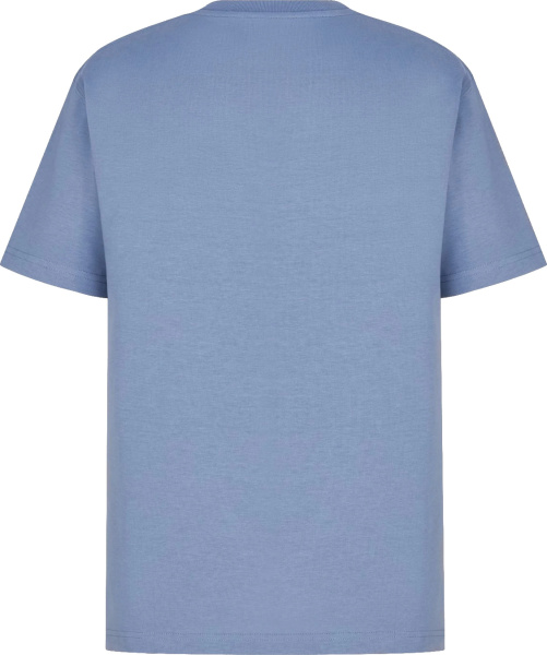 Dior Light Blue And Pink Cd Icon T Shirt
