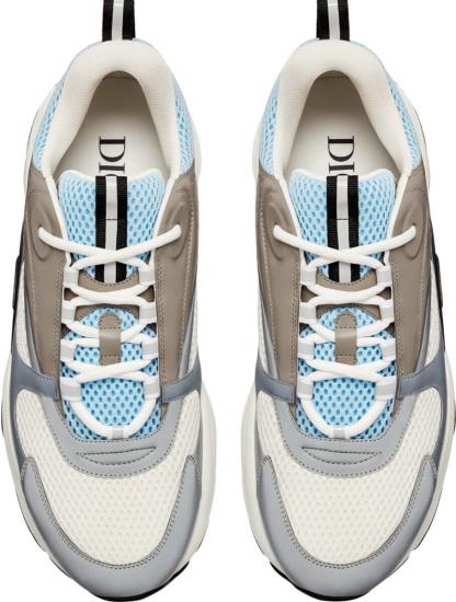 Dior Light Blue Navy White B22 Sneakers