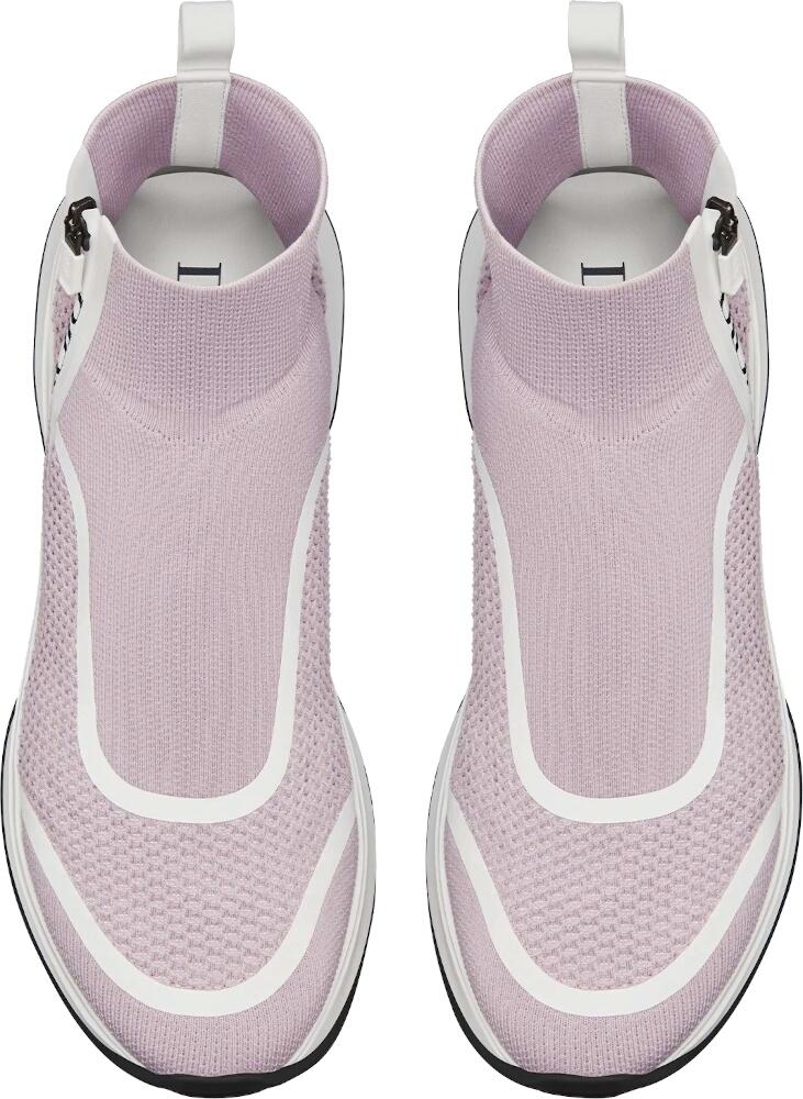 Dior Mens Pink High Top Sneakers