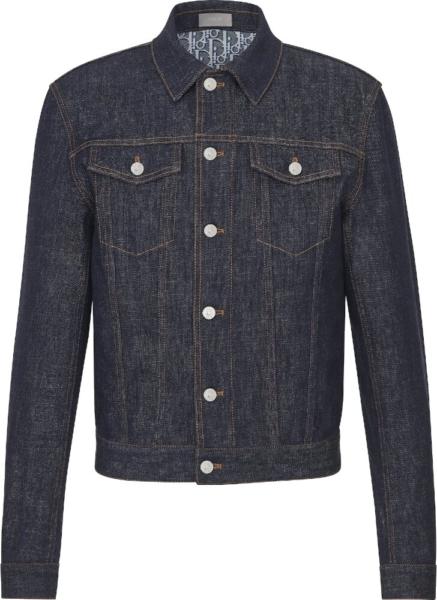 Dior Monogram Lined Denim Jacket