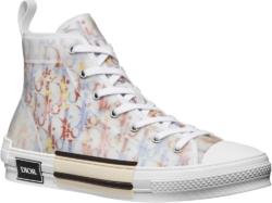 Dior Multiolor Oblique B23 High Top Sneakrs