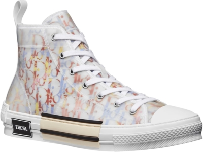 Dior Multiolor Oblique B23 High Top Sneakrs