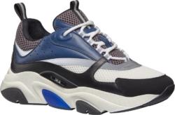 Dior Navy Grey White Black Sneakers