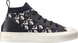 Dior Navy Walk N Dior Sneakers