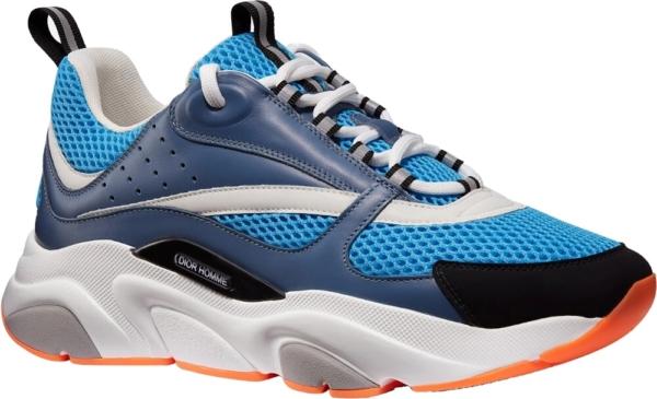 Dior Neon Blue B22 Sneakers