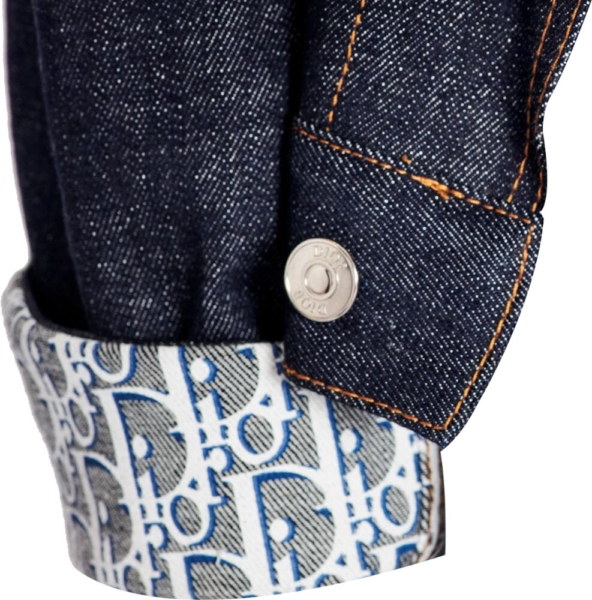 Dior Oblique Lined Denim Jacket