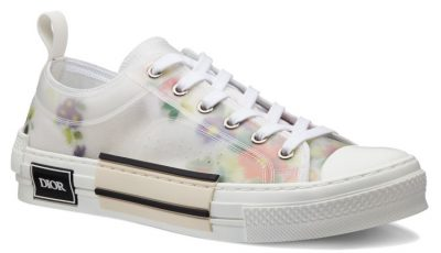 Dior Oblique Low Top Floral Sneakers Worn By Lil Baby In His Instagram Post