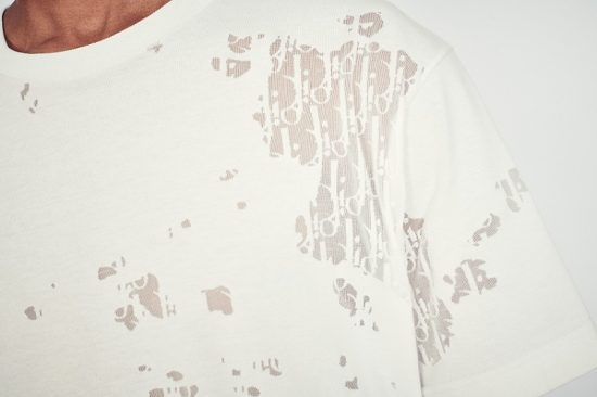 Dior Oblique Mesh T Shirt Worn By Lil Baby In Instagram Photo