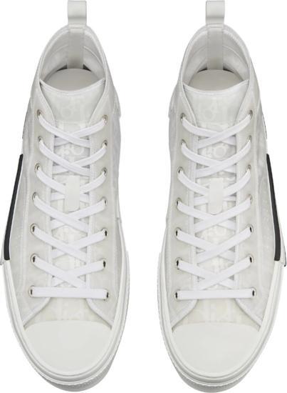 Dior Oblique White Sneakers
