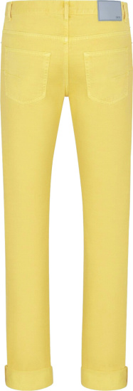 Dior Pale Yellow Slimfit Jeans