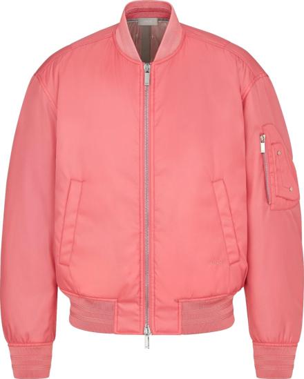 Dior Pink Bomber Jacket