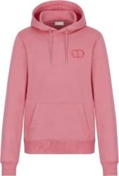 Dior Pink Cd Logo Hoodie