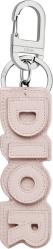 Dior Pink Leather Keyring