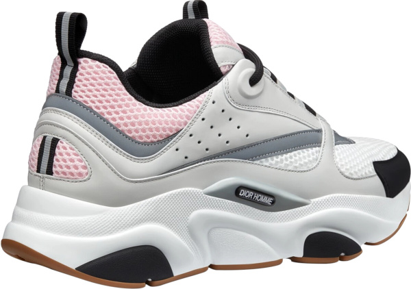 Dior Pink White And Grey Sneakers