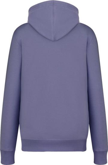 Dior Purple Cd Icon Hoodie