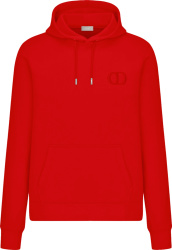 Dior Red Cd Icon Hoodie 113j698a0531 C300