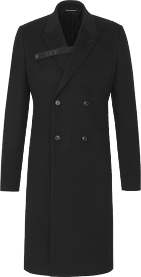 Dior Single Breasted Cashmere Overcoat