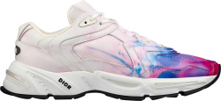Dior Tie Dye Pink Blue White Sneakers