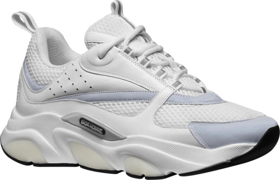 Dior White And Grey B22 Sneakers