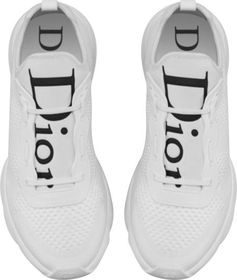 Dior White B21 Neo Sneakers
