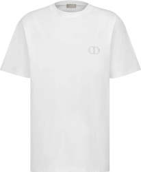 Dior White Cd Icon T Shirt 013j600a0589 C080