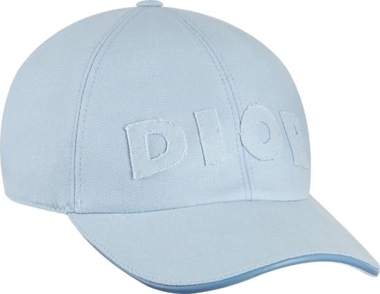 Dior X Daniel Arsham Light Blue Hat