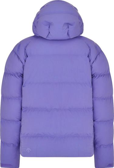 Dior X Descente Purple Puffer Jacket