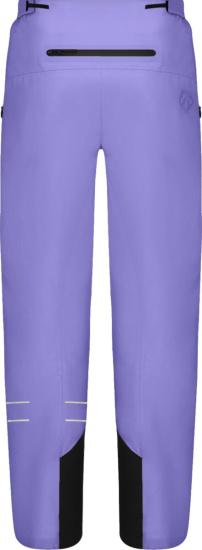 Dior X Descente Purple Ski Pants