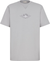 Dior x Jordan Grey 'Air Dior' T-Shirt