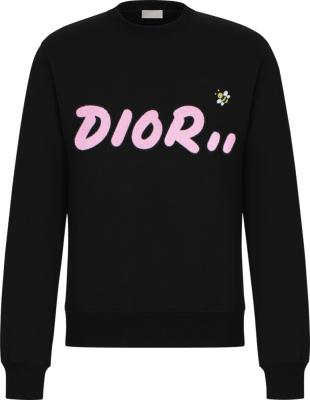 Dior X Kaws Bee Embroidered Sweatshirt