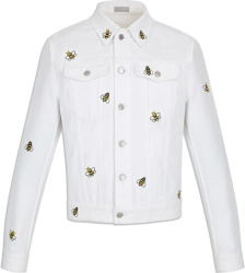 Dior X Kaws White Bee Jacket