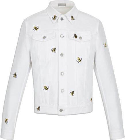 Dior X Kaws White Bee Jacket