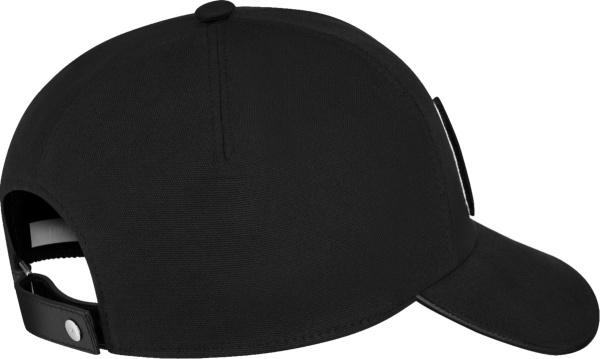 Dior X Kenny Scharf Black Cd Logo Baseball Cap