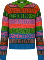Dior X Shawn Multicolor Striped Sweater