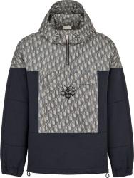 Dior X Shawn Stussy Navy Oblique Anorak Jacket